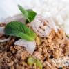 Laab - pikanter Thaihacksalat