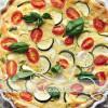 Zucchini-Tomaten Quiche