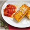 Polentaschnitten mit Tomatensoße