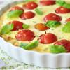 [Low Carb] Ricotta-Auflauf mit Tomaten