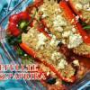 [Veggie] Gefüllte Spitzpaprika mit Couscous und Feta