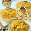 Herbstliche Kürbismuffins mit Walnüssen & Sultaninen