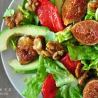 Avocado-Feigen-Salat