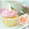 Litschi-Cupcakes mit Rosenwasser (ILYESD)