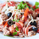Healthy Tomato Tuna Salad