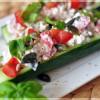 Healthy Dinner: Gefüllte Gurken