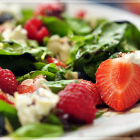 Healthy Summer Berry Salad & Winner