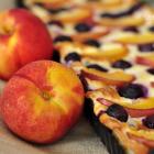 Süße Heidelbeer-Nektarinen Quiche [Lecker Bakery]