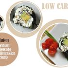 Low Carb Sushi, veganes PB Eis & ein Kuchen ohne Mehl