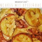 Pancakes mit Apfel & Bacon