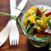 [LowCarb] Salat mit Landjäger oder eine große Wurstliebe