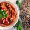 [Veggie & LowCarb] Kidneybohnentaler mit Tomatensauce, Rühreier auf ital. Art & Quarkfladen