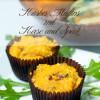 Herzhafte Kürbismuffins mit Käse & Speck