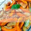 Herbstküche - Ofengemüse mit Schmandcreme