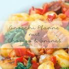 Gnocchi Pfanne mit Chorizo & Spinat