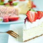 Hallo Frühling! Fluffige Erdbeer Käsetorte