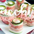 BBQ-Inspo: Zucchiniröllchen mit Bacon und Käse