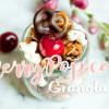 Cherry Popcorn Granola - Knuspermüsli mit Kirschen und Popcorn
