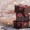 Fast vegane Kirsch-Brownies | #letscooktogether