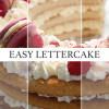 Easy Lettercake