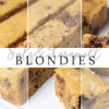 Blondies mit Salz & Karamell