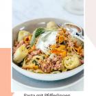 [Herbstküche] Pasta mit Pfifferlingen, Salsiccia & Artischocken