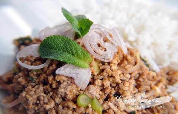 Laab – pikanter Thaihacksalat