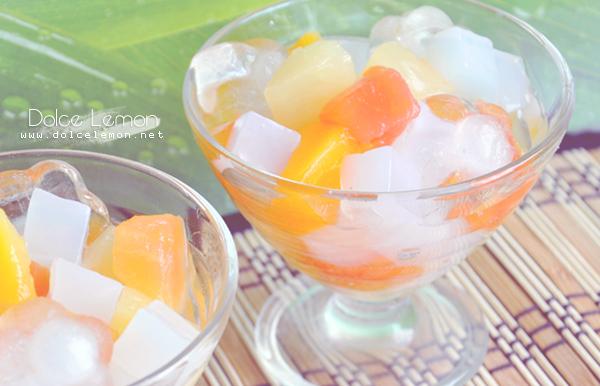 Kokos Gelee
