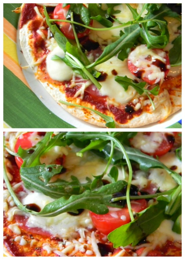 Nachgekocht: Tortilla Pizza