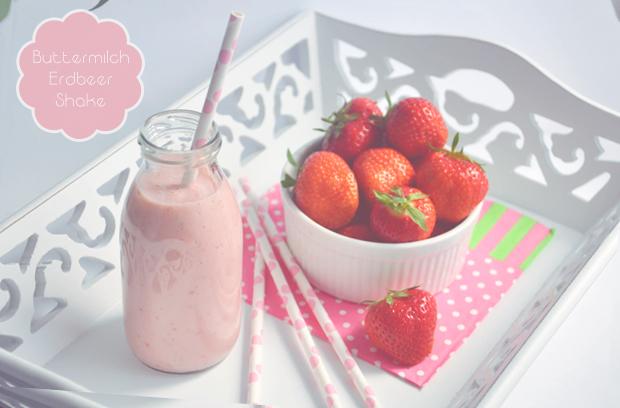 Buttermilch ~Erdbeer~Shake