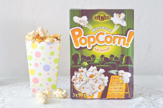 Kluth Microwave Popcorn &  Gewinnerin
