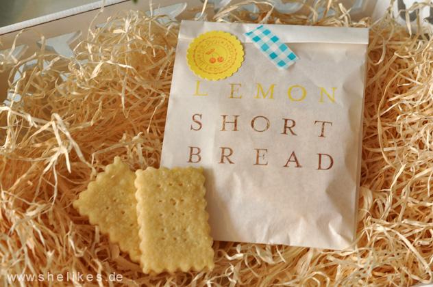 Lemon Short Bread