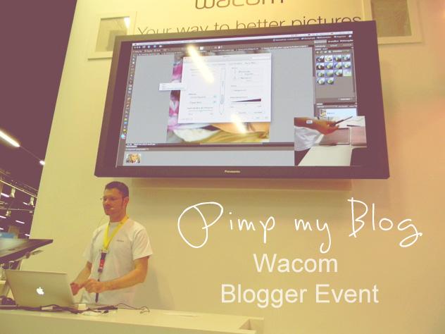 WACOM Bloggerevent