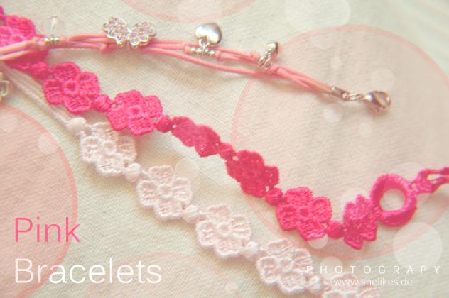 New In: Pink Bracelets