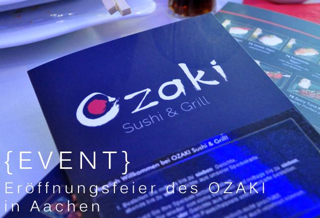 {Event} Eröffnungsfeier des OZAKI Aachen