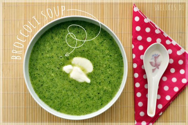 Quick Lunch: Brokkolisuppe