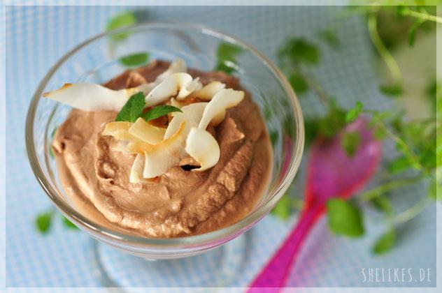 Fast vegane Kokos-Schoko Creme & Gewinnerin