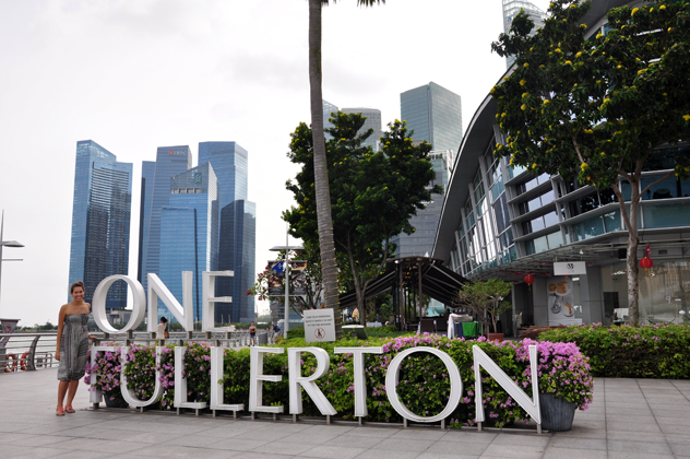 [Travel Diary Singapore] One Fullerton & The Merlion