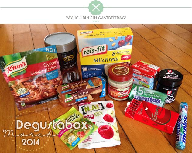[Review] Degustabox März 2014