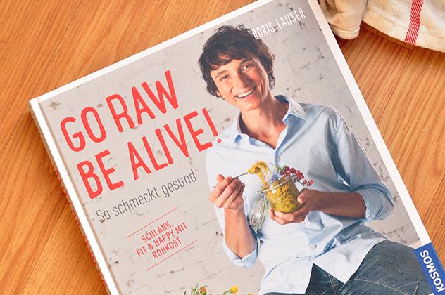 [Buchvorstellung] GO RAW BE ALIVE! | Rezept für Lowcarb Couscous