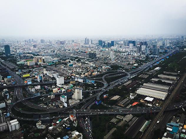 [Travel Diary] Ein Blick vom höchsten Gebäude Thailands – dem Baiyoke Tower 2