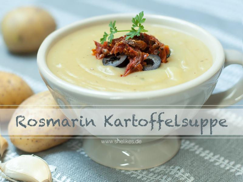 Cremige Rosmarin-Kartoffelsuppe [vegan]