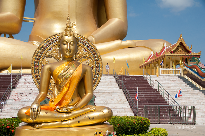 [Travel Diary] Wat Muang in Ang Thong | Thailand