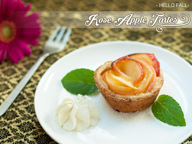 Hello Fall – Rose Apple Tartes