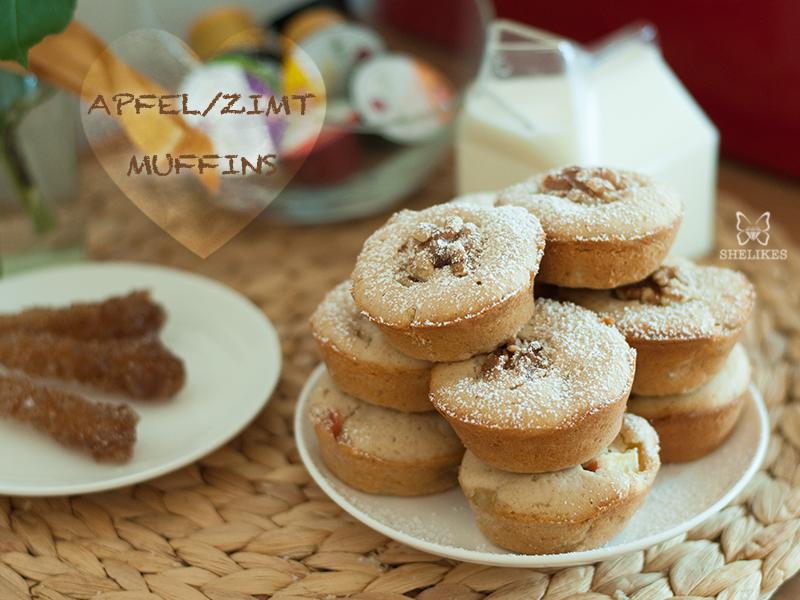 SIMPLY YUMMY – Apfel/Zimt Muffins [Werbung]