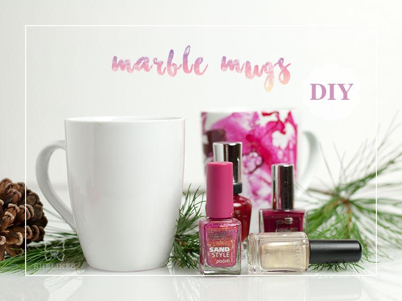 [DIY] Marble Mugs