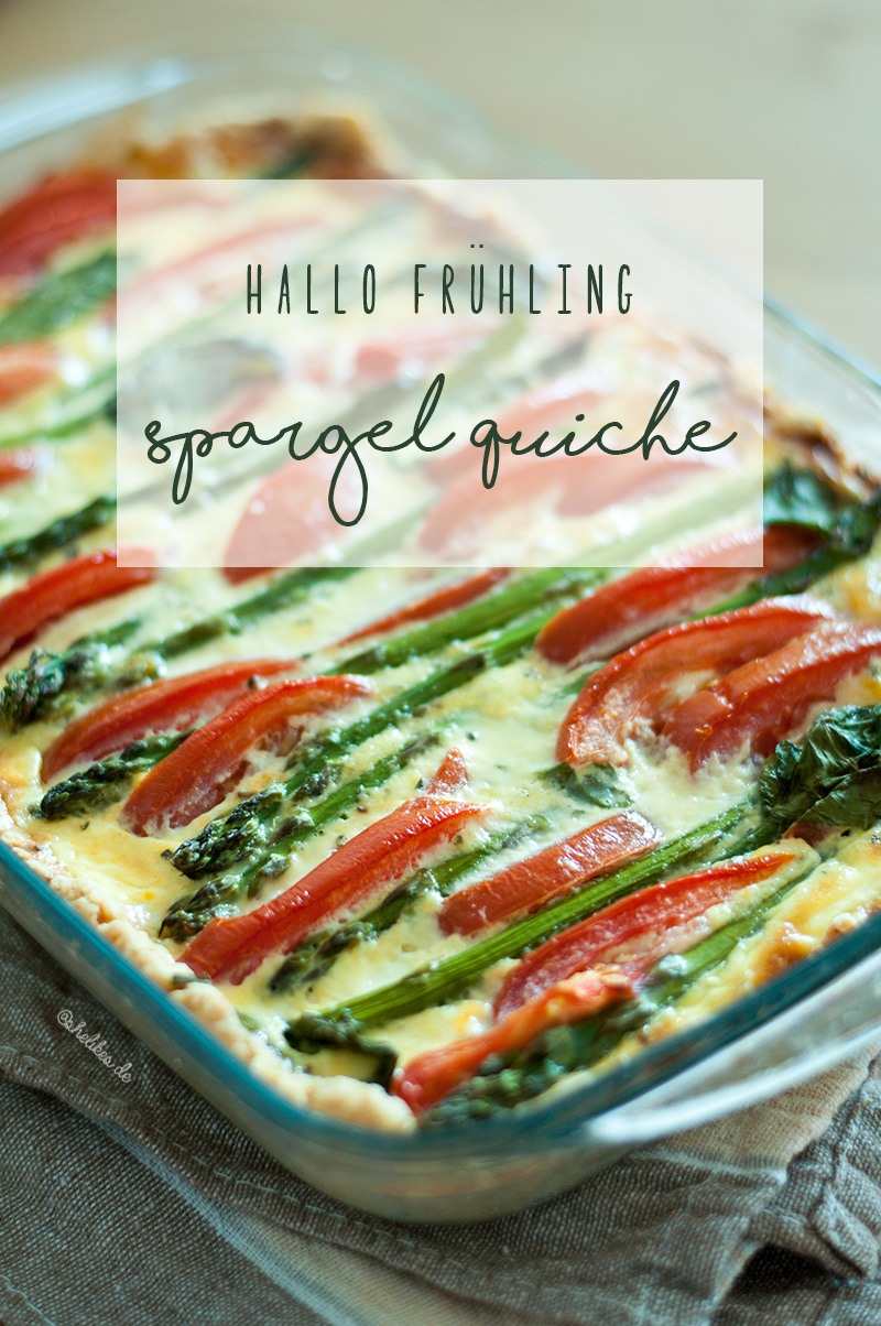 SHELIKES goes YouTube – Rezept für Spargel Quiche