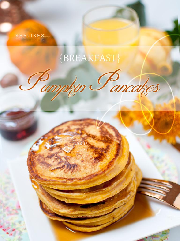 [BREAKFAST] Pumpkin Pancakes