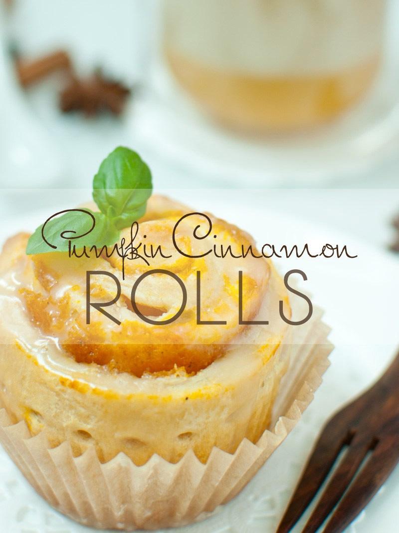 Pumpkin-Cinnamon Rolls