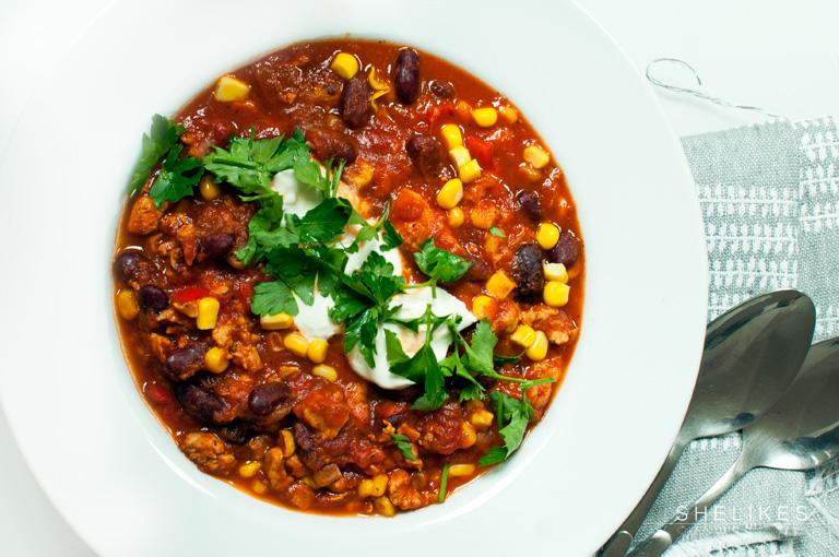 New Classics – Chili con Carne mit Putenfleisch